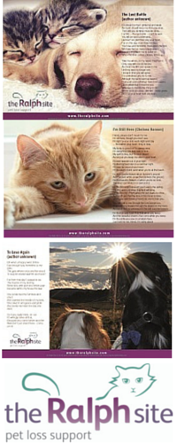 The Ralph Site Pet Loss Poems collection