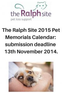 Ralph Site 2015 Pet Memorials Calendar
