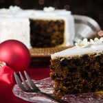 Slice Of Christmas Cake
