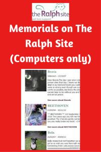 Ralph Site Pet Memorials