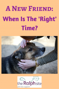 There is no 'right' time that is the same for everyone.