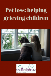 Losing a pet is hard enough for us adults, but for a child, losing their best friend, confidante and partner in crime can feel devastating.