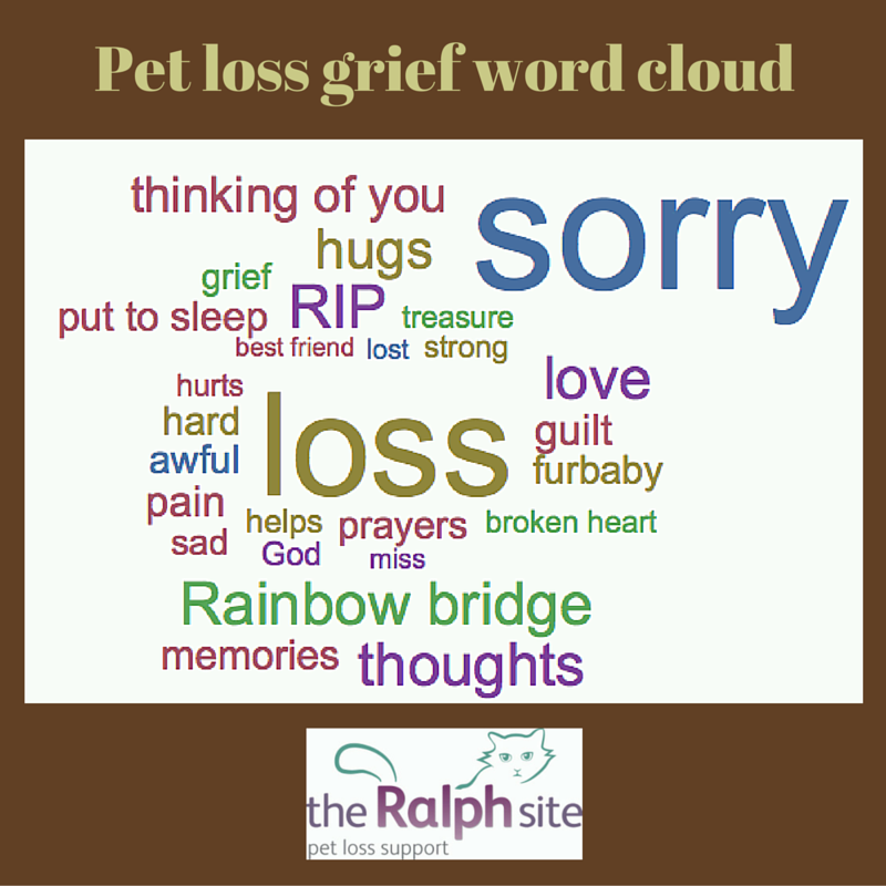 the language of pet loss grief the ralph site blog