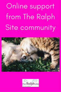 Online support from The Ralph Site community pinterest